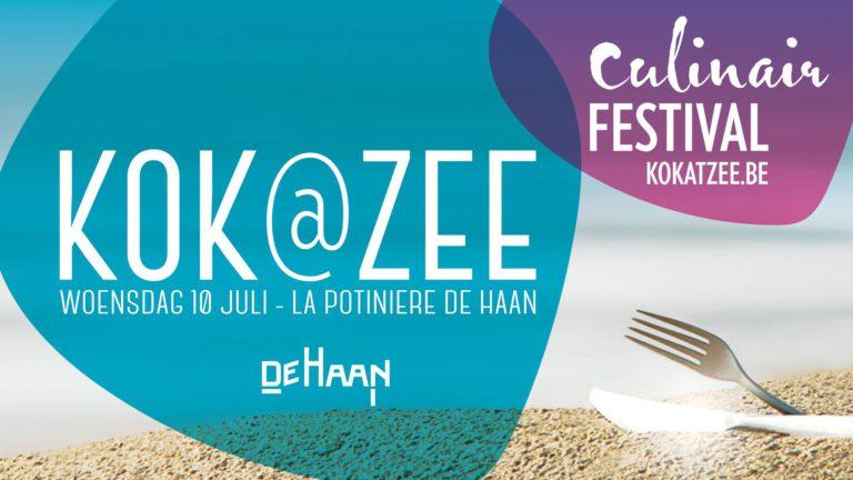 Kom ons 10 juli bezoeken op Kok@Zee!